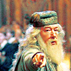 bethbethbeth: Dumbledore, pointing toward the viewer (HP Dumbledore (sallyna_smile))