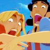 popetacular: miguel and tulio screaming and recoiling in horror (rted ;; OMGWTF?!)