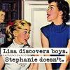 reymonkey: (lisa discovers boys...)