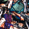 xenacryst: clinopyroxene thin section (Default)