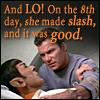sundara: (LO on the eigth day she made slash)