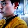 "gblvr: screencap of Hikaru Sulu with the caption ""sulu"" (Trek -- Sulu - new skool)"