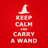 redwritinghood: keep calm and carry a wand (pic#2523178)