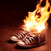 kansouame: (Shoe fire!)