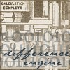 """damned_colonial: A Babbage machine, and the words """"Difference engine"""" (difference engine)"""
