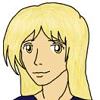 dens_extra_pups: Drawing of my original character, Legacy Bates. (legacy)