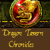"dens_extra_pups: the Dragon Tavern logo, with ""Dragon Tavern Chronicles"" beneath it. (dtc)"