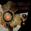 "smackshack: Dog, from Half-Life 2, says ""Y Hello Thar!"" (hello thar)"