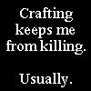 wickedorin: crafting, not killing (not killing, crafting)