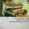 "paraka: John touching Cameron with the caption ""You make me want to be something more"" (SCC-J/C-Something More)"