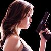 paraka: Cameron holding a gun (SCC-C-Holding a Gun)