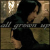 "shyfoxling: Frames of young Severus and professor Snape, text ""all grown up"" (severus gen (all grown up))"