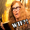 "shyfoxling: Trelawney looking surprised, text ""WTF?"" (confused (trelawney wtf))"