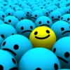 hokeysmoke: a happy face in a sea of sad ones (happy)