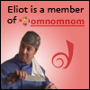 thedivinegoat: Picture: Eliot from Leverage - Text: Eliot is a member of omnomnom (Leverage - Eliot is a member of omnomnom)