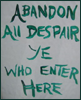 "jesperanda: ""Abandon all despair ye who enter here."" (Abandon despair // pic: Drain @ Flickr)"