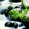 waterfall: Picture of a waterfall. (waterfall-rocks)