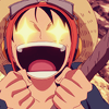 dancing_moon: Luffy with stars in his eyes (so-damn-cool)