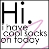 myx: (cool socks)