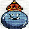 schalakitty: A royal gelatinous blob grins at you (King Slime)