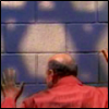 another_constellation: George from Arrested Development stroking a shadow of the Star of David (Star of David)