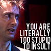 wednes: (Doctor Literally Too Stupid)