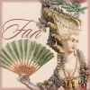 damned_colonial: 18th century woman with a fan. (fan)