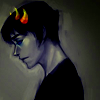 thii2ii22tupiid: art by tumblr godmask (lookiing down)