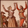 damned_colonial: Catlonian people doing a folk dance waving their hands in the air. (paul gross arms)