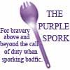 kippurbird: (The Purple Spork)