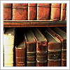 sofiaviolet: old books on a shelf (library)