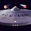 starfleet: Front view of the USS Enterprise (The Captain)