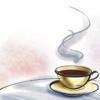 quillori: a cup of hot tea (subject: tea, mood: tea, theme: tea)