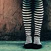 lariope: (stripey legs)