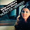 samsom: (mono or herpes)