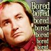 quillori: Vila, text reads 'Bored, bored, bored' (mood: bored, blakes7: vila (bored))