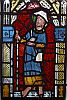 ossamenta: Medieval glass painting of St James (York, UK) (St Jakob (York))