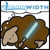 peachy_keen: Star Wars Jedi DreamSheep (DreamSheep_Jedi)