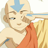 aangairnomad: Aang rubbing his eyes sleepily (sleepy)