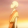 aangairnomad: Aang looking up at the sky (look to heaven for an answer)