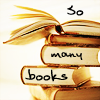 "susanreads: stack of books, ""so many books"" (books)"