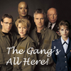 thothmes: Publicity Shot, Hammond, Fraiser, SG-1 (The Gang's All Here)