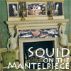 "jenett: image of a Georgian-era fireplace, with mosaics of squid and sea life in place, text reads ""Squid on the mantelpiece"" (squid on the mantelpiece)"