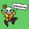 seidskratti: Chibi Rorsarch goes 'wwaaawwl' (Rorsarch)