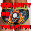 "azurelunatic: Rear view of mens' underwear with a flaming skull in the middle of the butt, captioned ""SKULLBUTT THE TORMENTOR"" (SKULLBUTT THE TORMENTOR)"