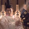 quillori: Seimei with fan (onmyouji: seimei)