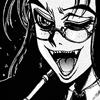 cleo: Rip van Winkle maniacal grin (Hellsing: Rip van Winkle vampire grin)