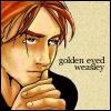 auntbijou: (Golden-eyed Weasley)