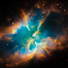 snowdust: A planetary nebula, captured by Hubble. (Default)