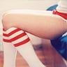 cleo: (Stock: Knee socks)